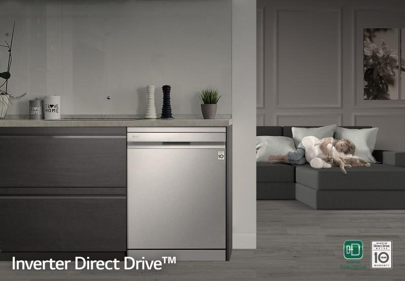 LG presenta en México su nueva línea de lavavajillas: LG QuadwashSteam - inverter-direct-drive