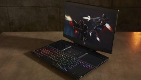 HP lanza primera laptop para videojuegos de doble pantalla del mundo