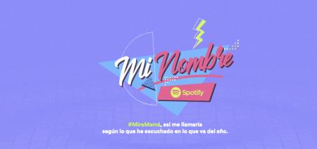 Descubre cuál sería tu nombre, si Spotify fuera tu mamá