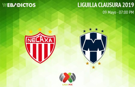 Necaxa vs Monterrey, ida de la Liguilla del C2019 ¡En vivo por internet!