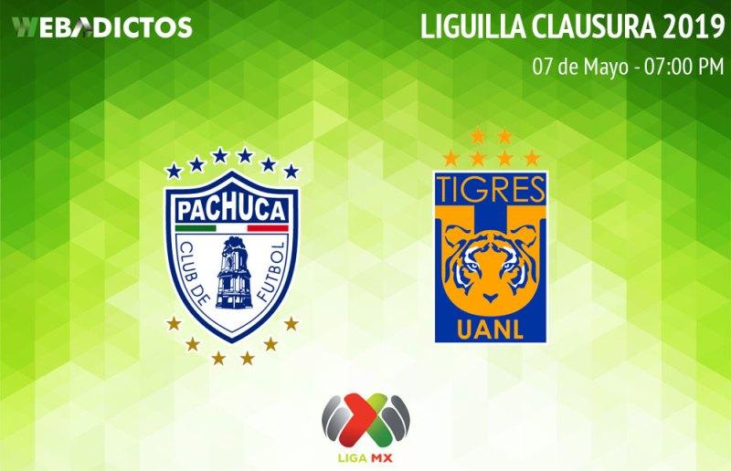 Pachuca vs Tigres, ida de la Liguilla del Clausura 2019 ¡En vivo por internet! - pachuca-vs-tigres-clausura-2019-liguilla-ida