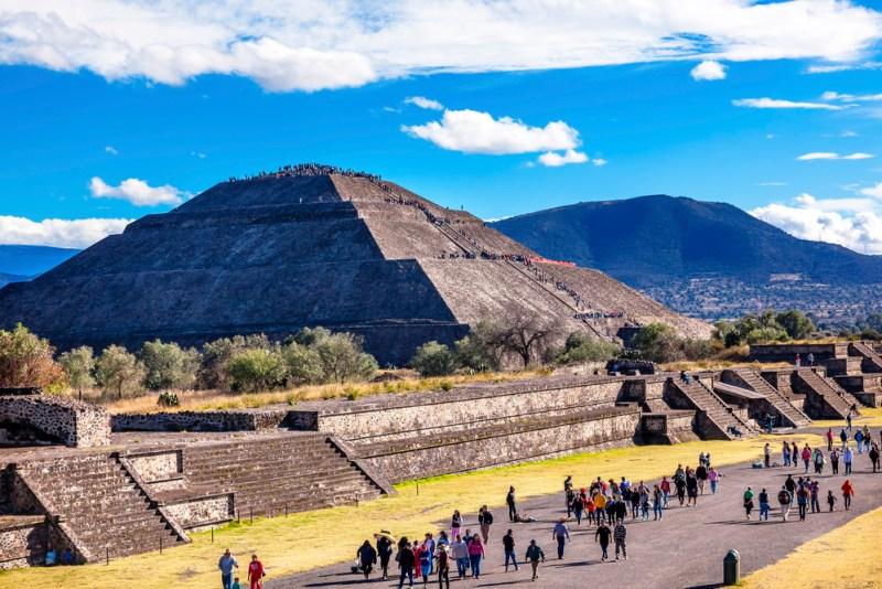 Teotihuacán es la atracción más popular entre los viajeros de la región - teotihuacan-800x534
