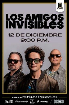 Los Amigos Invisibles regresan a El Plaza ¡boletos a la ventas el 28 de junio!