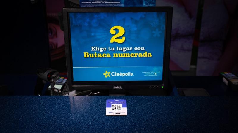 Ya puedes pagar boletos y dulcería del cine con QR de weex wallet - cinepolis-qr-weex-wallet
