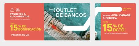 Despegar busca impulsar la reserva de viajes con Outlet de Bancos