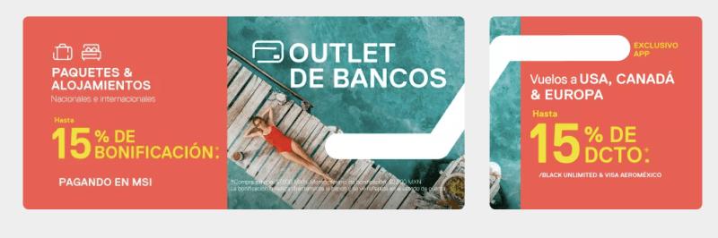 Despegar busca impulsar la reserva de viajes con Outlet de Bancos - despegar-paquetes-800x266
