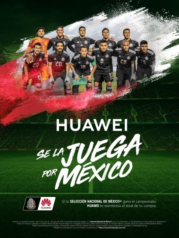 Huawei apoya a la Selección Nacional y se la juega por México - huawei-uegatela-por-mexico