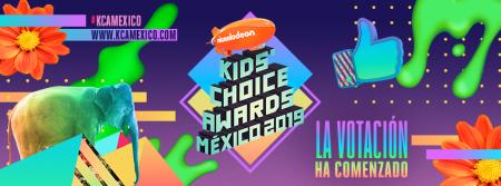 Inicia la votación de los Nickelodeon Kids' Choice Awards México 2019