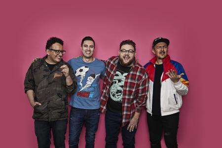 NRDWARE: el podcast original de Spotify que reúne a los 4 geeks más grandes de México