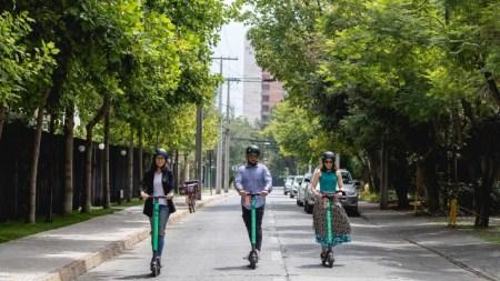 Usuarios de scooters en México gastan 70 pesos en cada uso