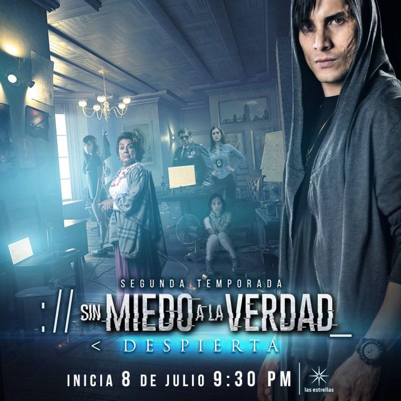 Preestreno digital de la segunda temporada de Sin miedo a la verdad el 1 de julio - segunda-temporada-de-sin-miedo-a-la-verdad-800x800