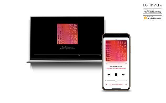 Los televisores LG TV AI THINQ 2019 ahora son compatibles con Apple AirPlay 2 - airplay2-lg-thinq-ai-tvs