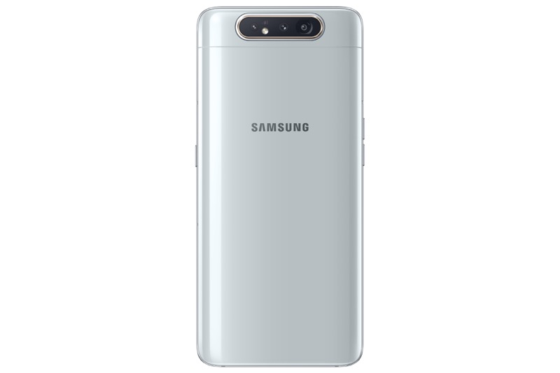 Samsung Galaxy A80, con cámara giratoria ¡ya disponible la preventa en México! - galaxy-a80_ghost-white_back-800x533