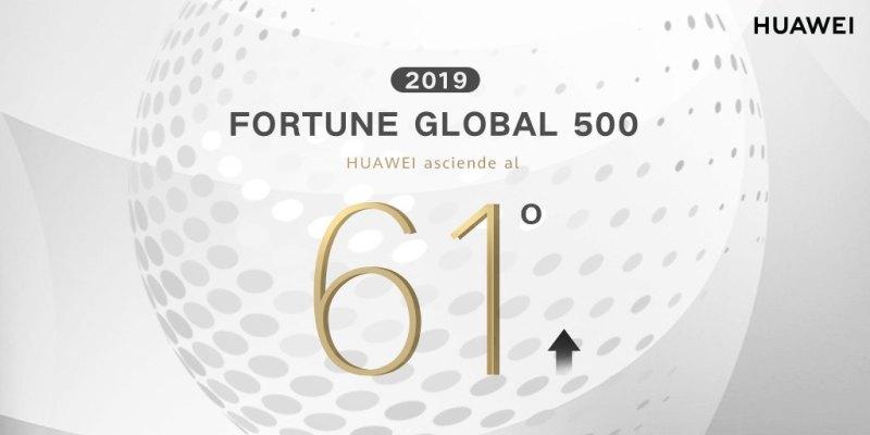 Huawei sube en la lista Fortune 500 - huawei-lista-fortune-500-800x400