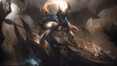 Riot presentó el rework de Pantheon que llegará a League of Legends en el parche
