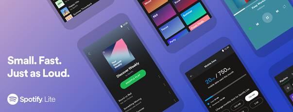 Spotify Lite: la nueva versión ligera, rápida y potente de Spotify ¡ya está disponible en México! - spotify-lite