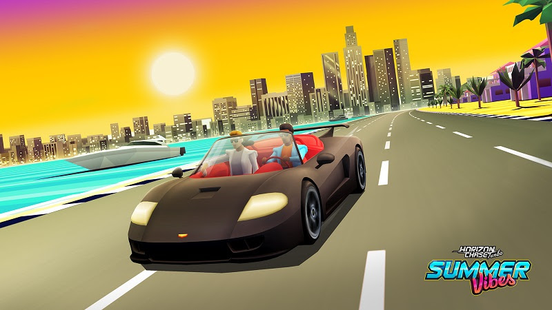 Llega Summer Vibes, el primer DLC de Horizon Chase Turbo - summer-vibes-detectives