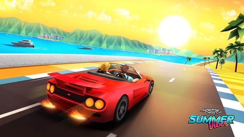 Llega Summer Vibes, el primer DLC de Horizon Chase Turbo - summer-vibes_pareja-iconica