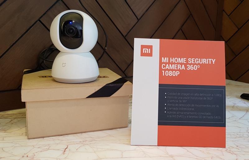 Loft inteligente de Xiaomi con MediaTek - camara-de-seguridad-mi-home-security-camera-800x517