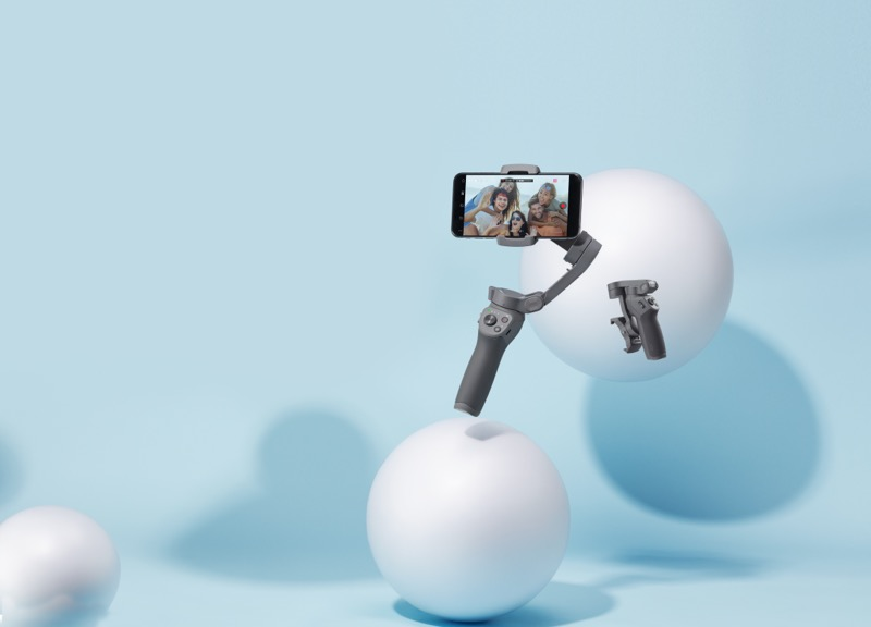 Osmo Mobile 3, nuevo estabilizador portátil de DJI ¡captura en calidad cinematográfica! - dji-osmo-mobile-3