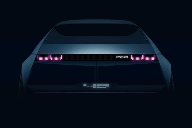 Hyundai presentará el nuevo concepto EV '45', en el Auto Show de Frankfurt - hyundai-45