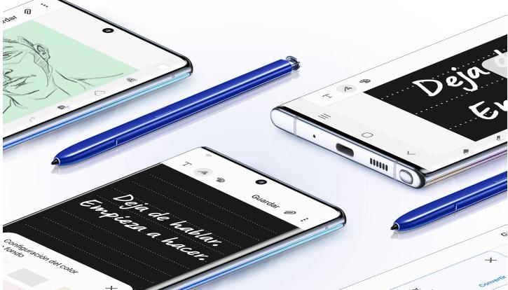 ¡Galaxy lovers! Llega a México el Galaxy Note10 - s-pen-samsung