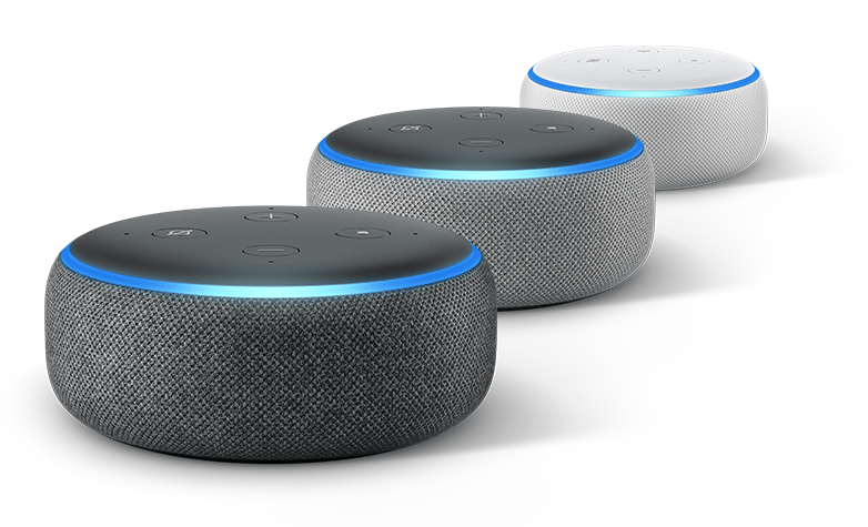 Amazon presenta iniciativa para que dispositivos inteligentes ofrezcan múltiples asistentes de voz - amazon-echo-dot