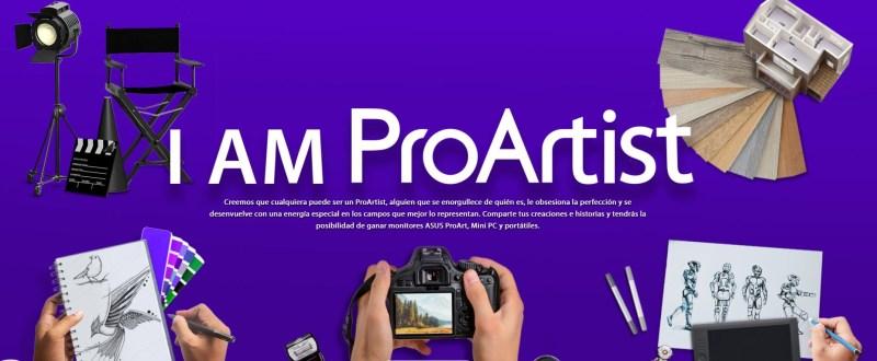 """ASUS anuncia la campaña """"I AM ProArtist"""" - asus-i-am-proartist"""