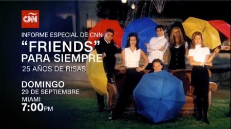 Documentales CNN presenta Friends para siempre: 25 años de risas