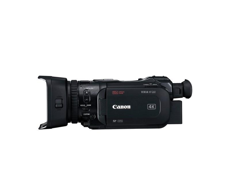 Canon lanza nueva videocámara liviana y compacta: VIXIA HF G60 - hr_vixia_hf_g60_5_front_lside4_c_cl