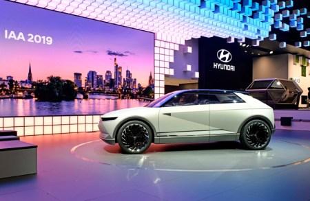 Hyundai Motor presenta el concepto 45 EV en el IAA de Frankfurt 2019