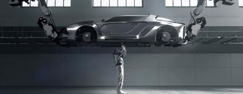 Hyundai desarrolla exoesqueleto, un chaleco portable para auxiliar la carga en el trabajo - hyundai-vest-exoesqueleto-vex-800x311