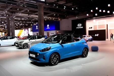 Hyundai Motor presenta el nuevo i10, en el Salón Internacional del Automóvil de Frankfurt (IAA) 2019