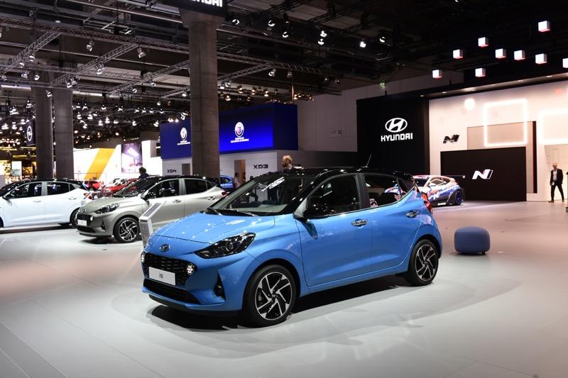 Hyundai Motor presenta el nuevo i10, en el Salón Internacional del Automóvil de Frankfurt (IAA) 2019 - hyundai_i10_1
