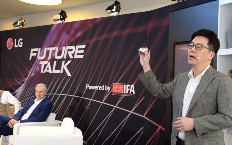 LG inicia en el IFA 2019 con conferencia magistral sobre la evolución de la Inteligencia Artificial - lg-future-talk_2