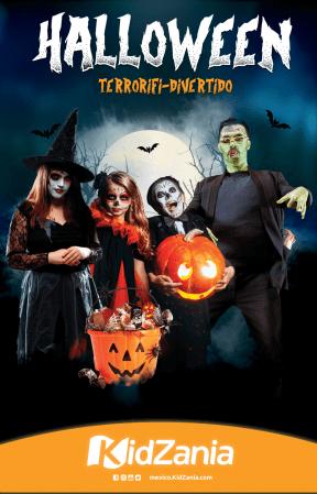 Preventa Halloween TERRORÍFI-DIVERTIDA en KidZania 2019