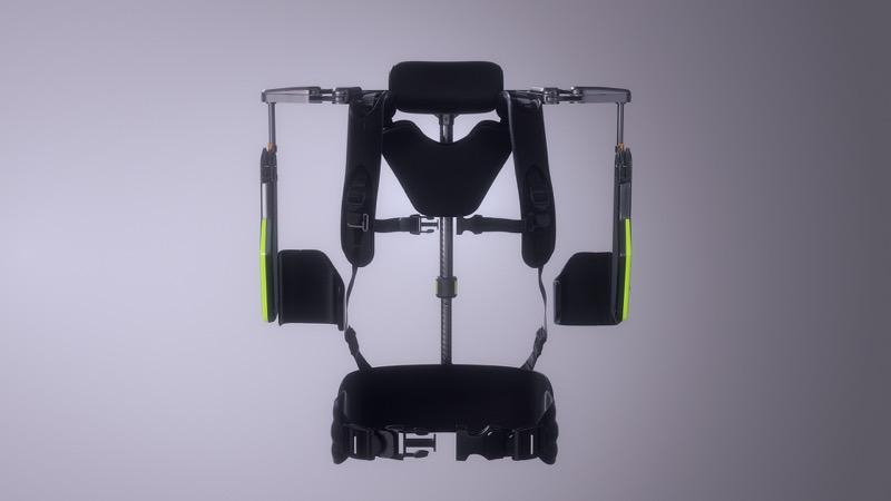 Hyundai desarrolla exoesqueleto, un chaleco portable para auxiliar la carga en el trabajo - vest-exoesqueleto-vex-hyundai-motor-group