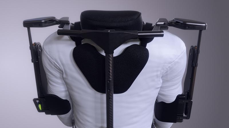Hyundai desarrolla exoesqueleto, un chaleco portable para auxiliar la carga en el trabajo - vest-exoesqueleto-vex-hyundai-motor-group_2