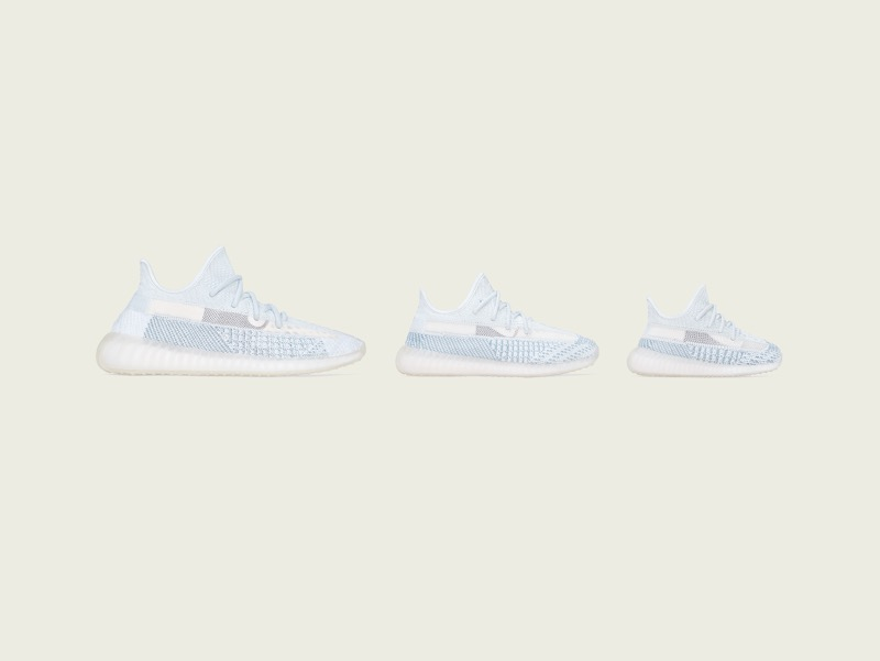 adidas + KANYE WEST lanzan: YEEZY BOOST 350 V2 Cloud White - yeezy-boost-350-v2-cloud-white