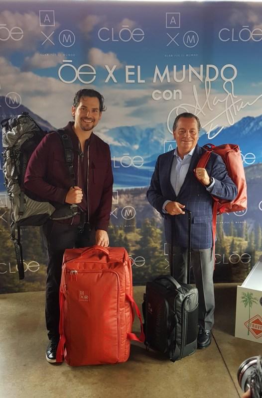 Cloe y Alan x el Mundo se unen para crear la colección de equipaje: Oe x El Mundo - cloe-alex-x-el-mundo