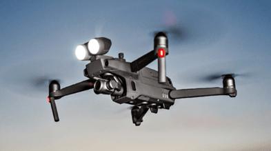 La implementación de drones en operaciones policiacas