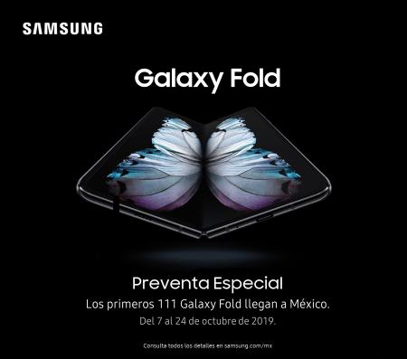 [Preventa] Galaxy Fold, el smartphone plegable de Samsung llega a México