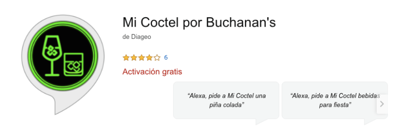 """""""Mi cóctel"""" el primer skill de coctelería para Alexa creado por casa Buchanan´s - mi-coctel-alexa-800x266"""