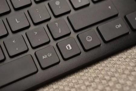 Microsoft presenta sus teclados con botón para Office