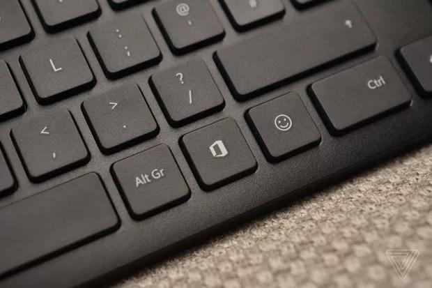 Microsoft presenta sus teclados con botón para Office - microsoft-teclado