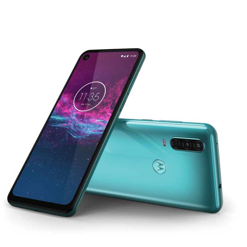 Motorola one action acqua ¡ya disponibilidad en México! - motorola-one-action-row-aqua-teal-laydown-combo