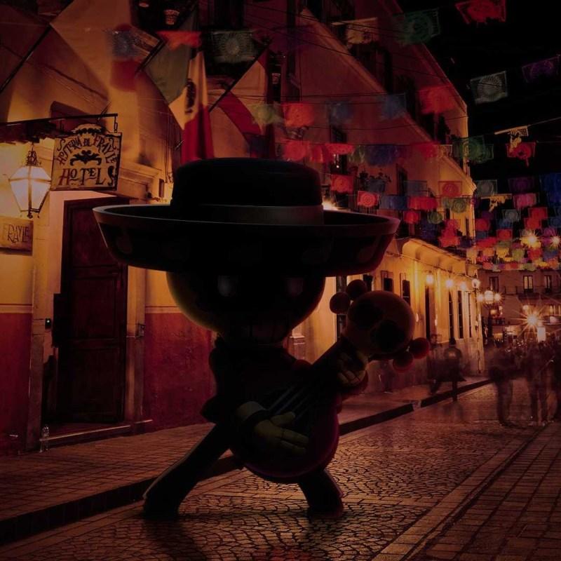 Poco, de Brawl Stars, prepara su guitarra para el Desfile de Día de Muertos de la Ciudad de México - poco-desfile-de-dia-de-muertos-cdmx