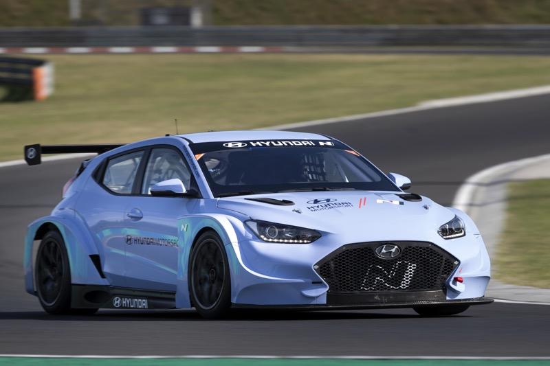 Hyundai Motorsport comienza a realizar pruebas con Veloster N ETCR - veloster-n-etcr-01