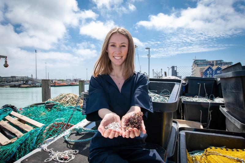 El bioplástico marino gana el Premio Internacional James Dyson 2019 - bioplastico-marino