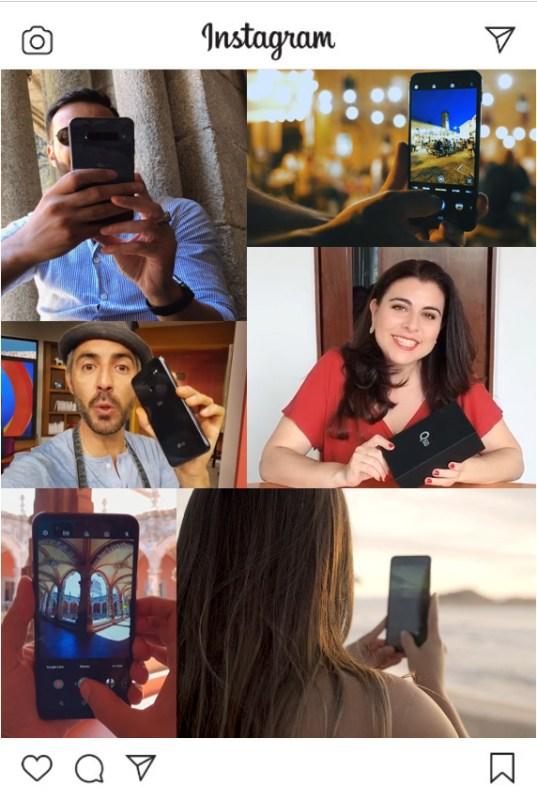 LG comparte los colores de la vida en Instagram - creators-with-lg-mobile
